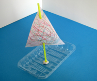 Sqooll.com DIY pirate ship craft activity for babies age 1 - 2