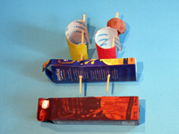 Sqooll.com DIY pirate ship craft activity for kids assembly