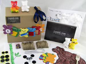 Sqooll.com Bears Baby Activity Pack