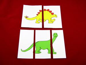 Baby dino puzzle