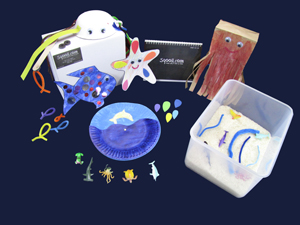 Sqooll.com Under the Sea Toddler Activity Pack