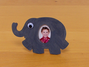 Sqooll.com African Safari - Elephant photo frame