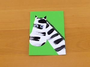 Sqooll.com African Safari Paint a zebra