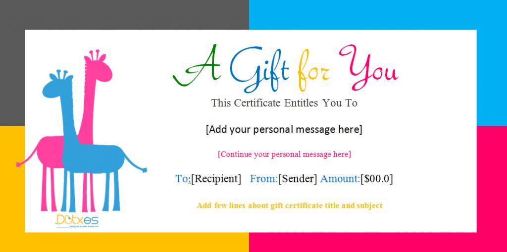 Twins Birthday Gift Certificate Template 1024x510 Sqooll