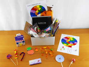 Sqooll Kids My Sweet Shop Activity Pack!